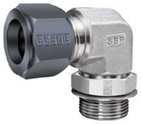 Flareless tube fitting
