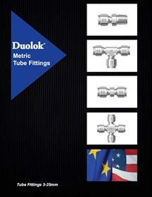Metric Tube Fittings - Duolok