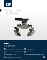 Ball Valves - FB Series Multipurpose