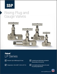 Rising Plug Gauge Valves - LP Series