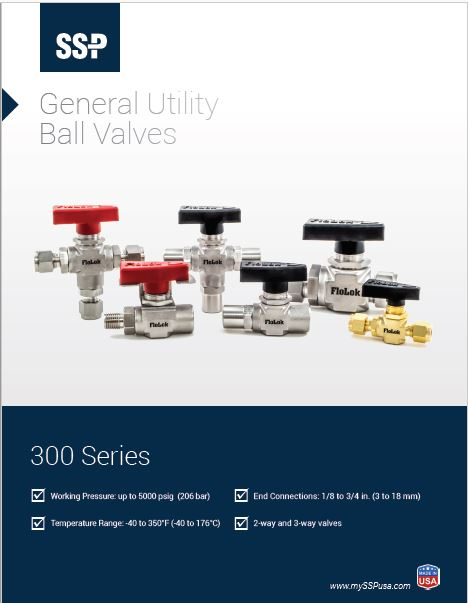300 Series Ball Valves Catalog Cover