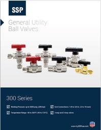 300 Series Ball Valves Catalog Cover
