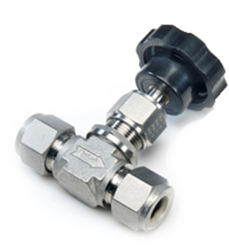 Stainless Steel Needle Valve - 400 Series Lower Packing