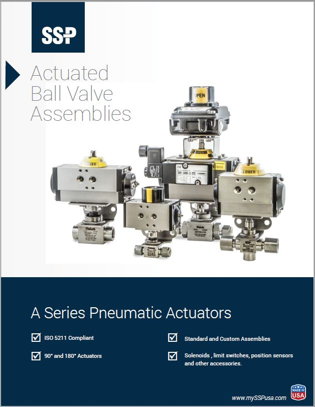 Actuated Ball Valves Catalog