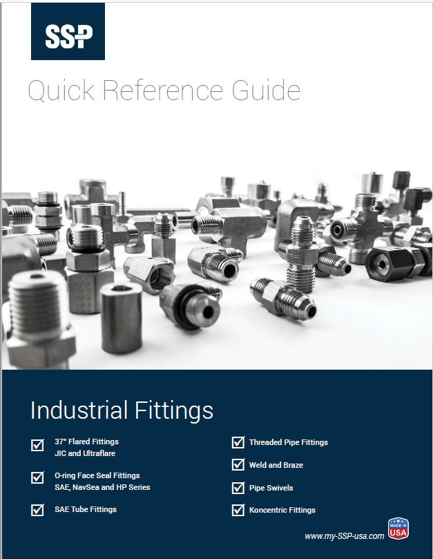Industrial JIC Fittings, O-ring face seal fittings, pipe fittings