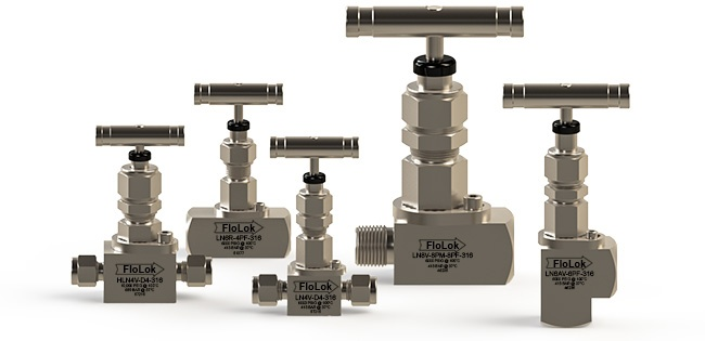 Stainless Steel Needle Valves - LN Series