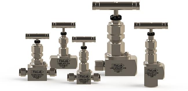 Stainless Steel Needle Valves - LN Series